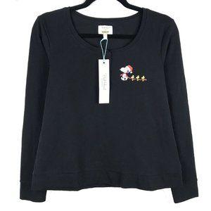 BedHead Pajamas x Peanuts Sleepwear Top Black XS
